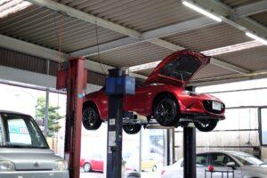 NDロードスターのオイル交換は料金が高い!自分でやってフィルター交換は車検ごとでいくぜ